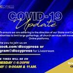 COVID-19 Service Updates