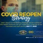 COVID Re-open Strategy